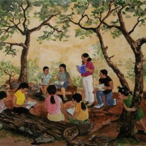 Esperanza and the New School_cards