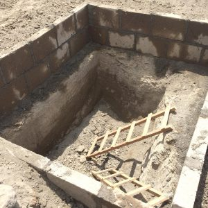latrine pit